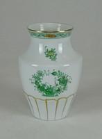 0W428 Régi Herendi Apponyi mintás porcelán váza