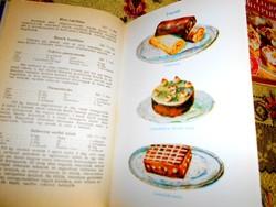 Móra Ferencné 1949 év  szakácskönyv reprint kiadása