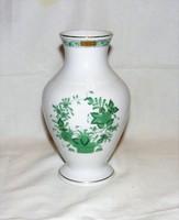 Herendi Indiai kosár mintás váza 17 cm