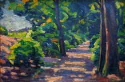 """Widder Félix( 1874 - 1939 ) """" Erdei fények """""""