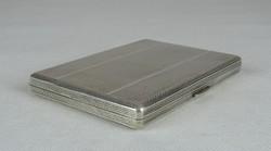 0W380 Antik ezüst cigaretta tárca dózni 119 g