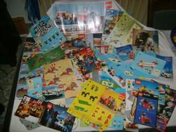 Régi LEGO doboz lapok, füzetek