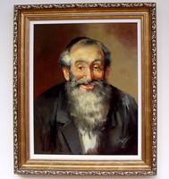 Adilov Kabul Rabbi portré II.KERETEZVE 63x53cm