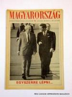 1990 május 11  /  MAGYARORSZÁG  /  Régi ÚJSÁGOK KÉPREGÉNYEK MAGAZINOK Szs.:  9789