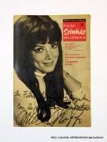 1969 január 11  /  FILM SZÍNHÁZ MUZSIKA  /  Régi ÚJSÁGOK KÉPREGÉNYEK MAGAZINOK Szs.:  9812