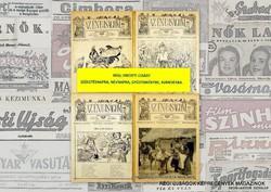 1934 április 1  /  Az Én Ujságom  /  RÉGI EREDETI ÚJSÁG Szs.:  5948