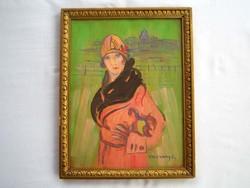 Vaszary János festmény