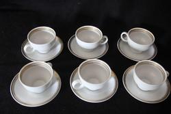 Kahla 6 személyes kávéskészlet