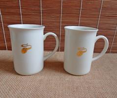 Zsolnay arany kávészemes bögrék