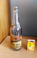 Régi üdítős üveg Schweppes 0,3