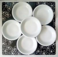 Alföldi fehér Saturnus mély tányérok 6db