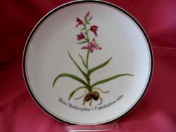 Rosenthal botanika Hannelore Loki Schmidt fali tányér