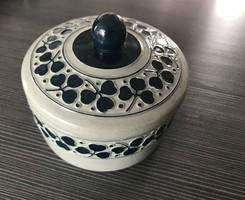 Antik szecessziós bonbonier, cukortartó