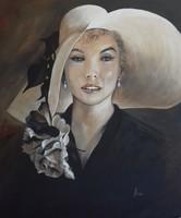 Marilyn című festmény, portré