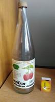 Régi üdítős üveg Et-Üd 1 l