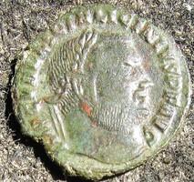Romai bronz pénz /follis/, Licinius 308-324