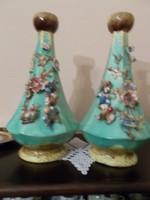 Szeceszios nagy méretű páros vázák