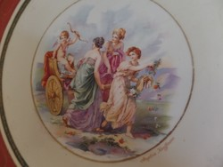 Altwien tányér