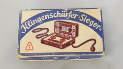 Sieger borotva élező, gyári dobozával