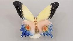 Volkstedt porcelán pillangó , lepke