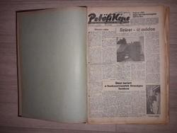 Petőfi Népe újság egybe kötve 1966