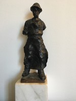 Bronz szobor_kovács