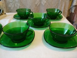 Zöld üveg kedvelőinek teás készlet és más