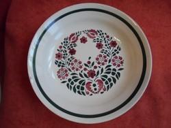 Gránit porcelán szív mintás mély tányér