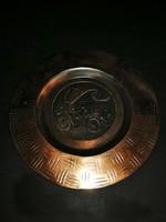 Áfor-os réz fali tányér - EP