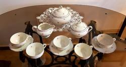 Antik H&C porcelán teás készlet (1905)