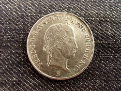 V. Ferdinánd ritka ezüst 20 Krajcár 1841 E (Gyulafehérvár)/id 8211/