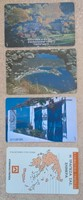 Görög telefonkártyák ( 4 db )
