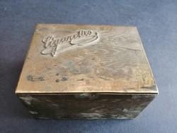 Réz asztali cigaretta tároló doboz - EP