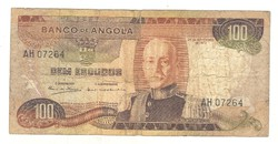 100 escudo 1972 Angola