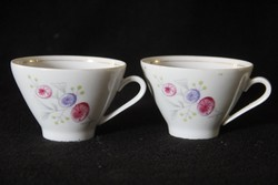 2 db freiberg porcelán kávéscsésze