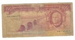 100 escudo 1962 Angola