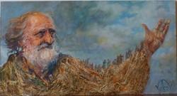 Volkov Mihail - Elvándorlás c. festménye