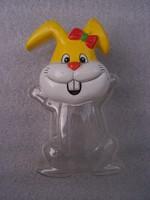 Retro nyuszi  húsvéti édességtartó