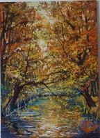 Volkov Mihail - Őszi nap c. festménye