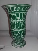 Zöld Gorka kerámia, 18 cm.