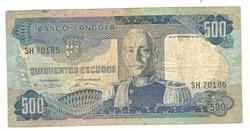 500 escudo 1972 Angola
