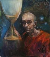 Volkov Mihail - Az idő c. festménye