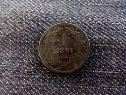 1 Krajcár 1891 KB/id 8337/