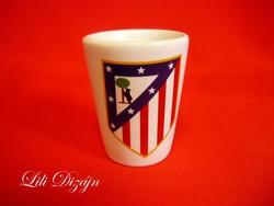 Atletico Madrid kerámia feles pohár