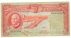 500 escudo 1970 Angola