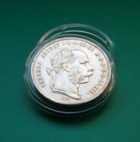 Ferenc József 1 Forint 1879 KB  - Ag900