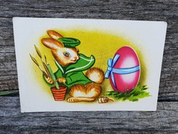 Régi húsvéti nyuszis képeslap
