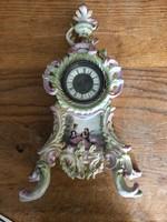 Antik porcelàn óra