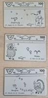 Osztrák telefonkártyák ( 3 db )