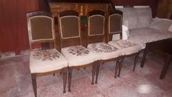 Szecessziós székek 4db.